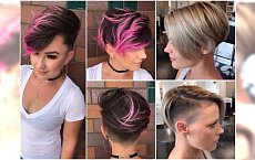 Krótkie fryzury: z grzywką, asymetryczne, undercut. Propozycje dla lubiących efektowne cięcia
