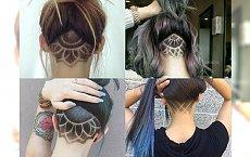 Galera inspiracji fryzurek under cut - dla charyzmatycznych dziewczyn, które chcą zadziwiać