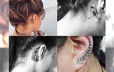 Tatuaż w okolicach ucha - galeria czarujących inspiracji. Uwielbiamy je!