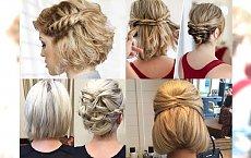 Śliczne upięcia dla krótkich włosów - idealne na wesela i inne okazje