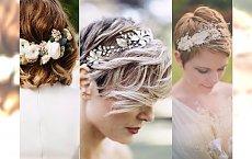 Fryzury ślubne dla właścicielek KRÓTKICH WŁOSÓW! Zobacz najpiękniejsze propozycje