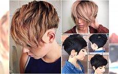 Krótkie fryzury: cieniowane, z grzywką, asymetryczne. 20 super inspiracji prosto z salonu!