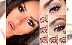Kolorowy makijaż dla ciemnych oczu. 20 fantastycznych propozycji na lato!