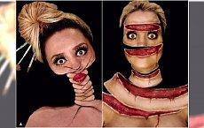Ta chorwacka makijażystka jest mistrzynią iluzji. Zobaczcie jej niesamowite dzieła!