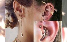 Piercing ucha inny niż wszystkie - stylowe inspiracje, które chcemy przetestować OD ZARAZ!