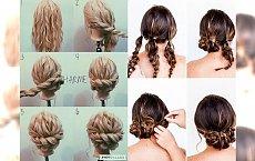 Mega proste i EFEKTOWNE fryzury, które zrobisz w kilka minut! KROK PO KROKU