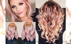 Wszystkie odcienie ROSE GOLD, które ubóstwiamy! Koloryzacja idealna dla blondynek na regenerację po lecie