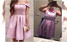Sukienka z AliExpress za kilka dolarów? To musiało tak wyglądać... Zdjęcia vs rzeczywistość