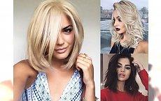 Galeria cięć dla półdługich włosów - te fryzurki to niekwestionowany HIT!