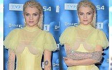 Margaret w sukni a'la kanarek na festiwalu w Opolu. Udana stylizacja?