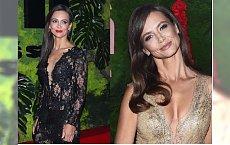 Kinga Rusin w zeszłym roku wywołała SZOK tą prześwitującą sukienką. W tym wcale nie było skromniej!