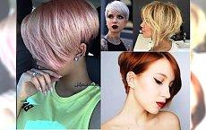Krótkie fryzury damskie - najpiękniejsze cięcia z grzywką, asymetryczne, pixie bob