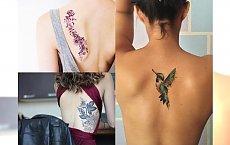 Magiczne tatuaże na plecy, które hipnotyzują! Galeria niesamowitych wzorów