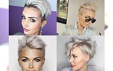 Krótkie fryzury z pazurem dla blondynek - pixie i irokezy, za którymi przepadamy!