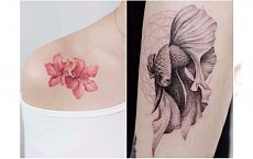 Artystyczne tatuaże - te małe WZORY są jak dzieła sztuki. Będziecie chcieli je mieć na ciele!