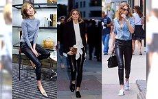 Jak nosić spodnie ze sztucznej skóry? 20 genialnych stylizacji