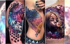 Tatuaże galaxy - HIT w tatuażu! Kosmiczne wzory z galaktyką robią furorę na Instagramie