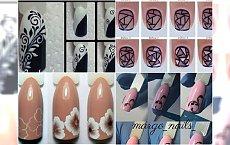 Piękne wzory na paznokciach krok po kroku - to nie takie trudne!
