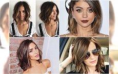 Krótkie cięcia, boby i loby dla brunetek, które chcą wyglądać stylowo i młodziej