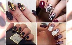 Przepiękne propozycje manicure na listopad - prawdziwe perełki
