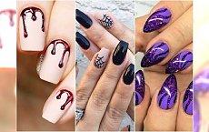 Paznokcie na Halloween - makabreskowe wzory na paznokcie [DUŻA GALERIA]
