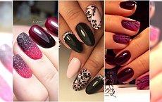 Gotycki manicure - HOT TREND na jesień! Odważycie się na takie hybrydy?