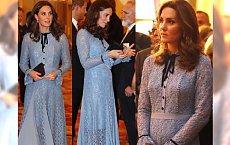 Księżna Kate po raz pierwszy oficjalnie w TRZECIEJ CIĄŻY! Widać już brzuszek?