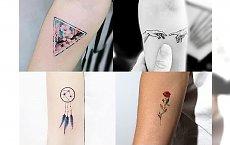 Małe tatuaże dla dyskretnych kobiet - bardzo urocze i dziewczęce wzory, jakich jeszcze nie widziałaś