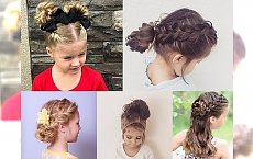 Śliczne fryzury dla dziewczynek - galeria uroczych inspiracji