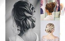 Piękne upięcia dla eleganckich kobiet - galeria pełna modnych fryzjerskich pomysłów