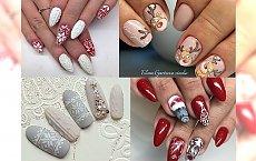 16 pomysłów na świąteczny manicure. Tak uroczych wzorków jeszcze nie widziałaś