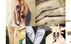 Tatuaże dla sióstr i najlepszych przyjaciółek - galeria uroczych pomysłów