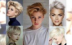 Najmodniejsze krótkie cięcia dla blondynek - galeria