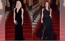 Edyta Herbuś czy Katarzyna Warnke? Która wyglądała lepiej w czarnej wieczorowej sukni?
