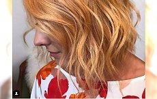Sweet mango - ten kolor włosów podbija Instagram. Będzie hit na miarę rose gold?
