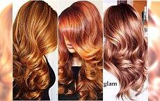 Miedziane kolory włosów idealne na jesień. Próbowałyście już odcień złotej miedzi?