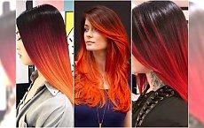 Włosy ombre w bajecznych odcieniach! 20 propozycji idealnych na jesień