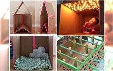 Genialne pomysły na zabawki, które zrobisz ze zwykłego kartonu - Twoje dziecko będzie zachwycone!