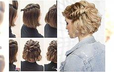 Krótkie włosy NAPRAWDĘ da się stylowo upiąć! Galeria świetnych inspiracji