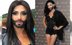 WIERLKA METAMORFOZA Conchity Wurst! Gwiazda Eurowizji już tak nie wygląda.