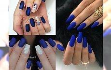 ROYAL BLUE - manicure idealny na koniec roku. Postaw na ożywczy i charyzmatyczny look!