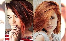 Śliczne boby i charyzmatyczne pixie we wszystkich odcieniach rudości - kochamy te inspiracje!