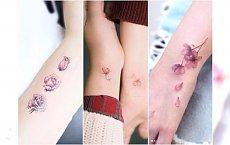 Tatuaże na nadgarstek. Delikatne wzory roślinne, które pięknie ozdobią twoje ręce