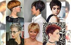 Krótkie fryzury 2018 – idealne na noworoczną metamorfozę