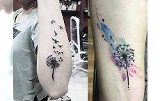 Tatuaż dmuchawiec – najnowsze inspiracje z wzorem, który robi furorę