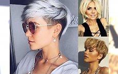 17 krótkich i półkrótkich fryzur dla blondynek - idealnych na noworoczną metamorfozę