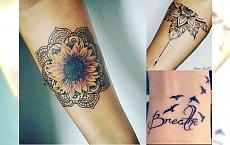 Tatuaż na ręce - prześliczne wzory dla kobiet
