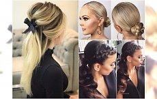 Fryzury na wigilię i święta - stylowe upięcia z długich włosów