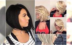 Modne fryzury średnie: cieniowane, bob, z grzywką