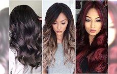 Modne kolory włosów dla brunetek. Metaliczne odcienie i popielate ombre są hitem zimy!